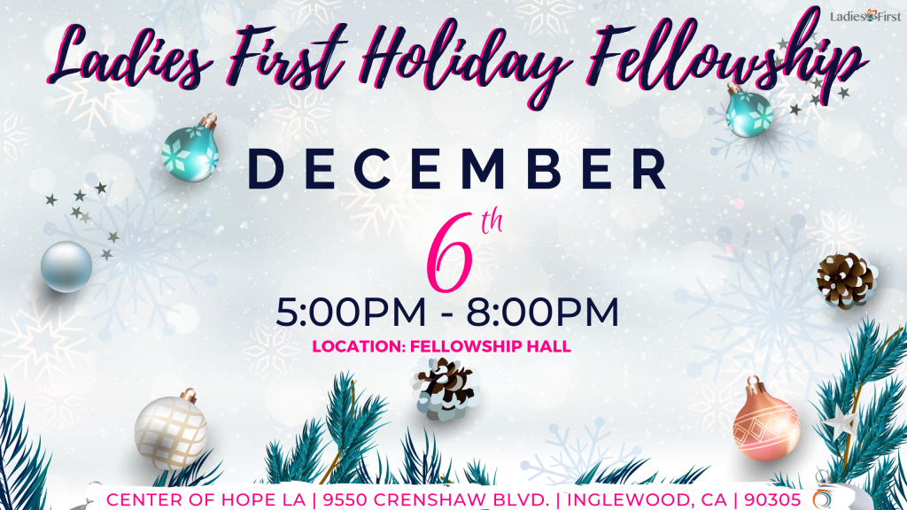 Ladies First Holiday Fellowship