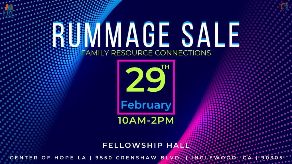 Rummage Sale (1)