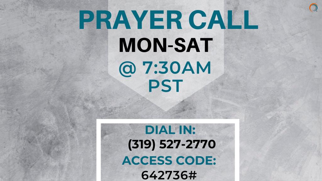 Prayer Call 2020