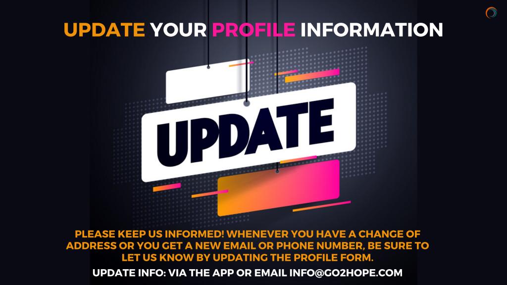 update info