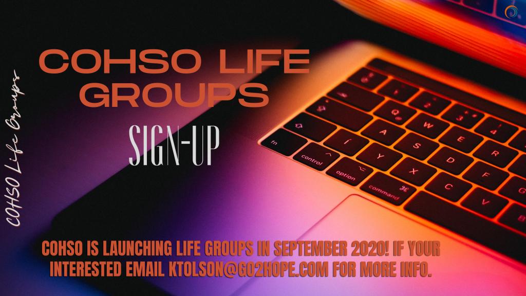 COHSO Life Groups