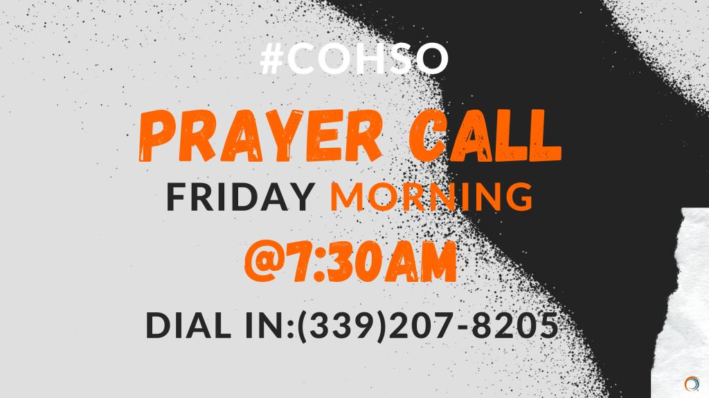 COHSO Prayer Call 4.27.57 PM