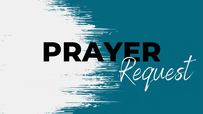 Prayer Request for website