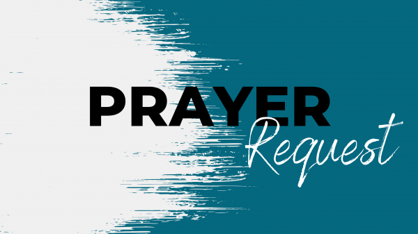 Prayer Request for website